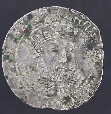 HIGH GRADE!  Henry VIII - 3rd Type Coinage - Groat - Coin - Silver - 1526-1544