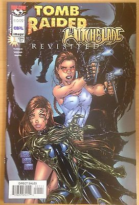 Tomb Raider Witchblade Revisited #1 Top Cow Image Comic Book (1998)