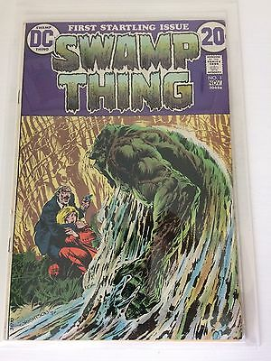 Swamp Thing issue 1, DC VG+ Bernie Wrightson