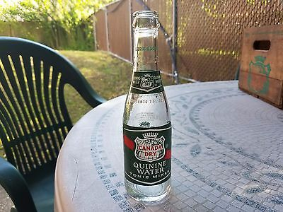 Canada Dry Quinine Water Gin And Tonic Mixer  Bottle  7 Oz