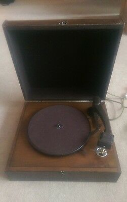 Vintage Hmv Electric Record Player