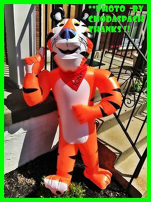 "NEW Kellogg's Frosted Flakes Tony the Tiger 55"" Inflatable Store Display W/ PUMP"