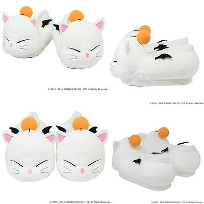 Square Enix Final Fantasy XIV Moogle Slippers 24 - 26 cm Free Shipping