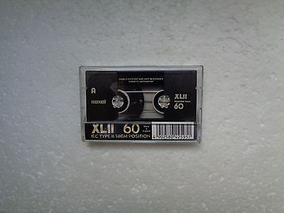 Vintage Audio Cassette MAXELL XLII 60 From 1998 - Fantastic Condition !!