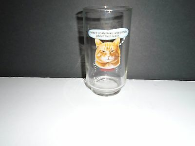 Morris 9 Lives Something Interesting About This Glass Promo Glass Free Shipping