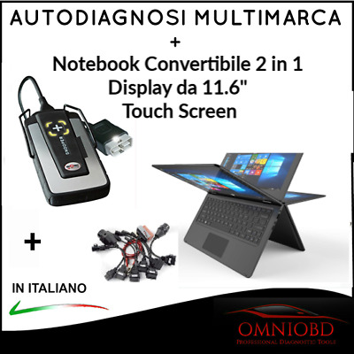 "Autodiagnosi Multimarca  Tablet 10""  W.0.w. Novità 2018 Auto Diagnosi Obd Obd2"