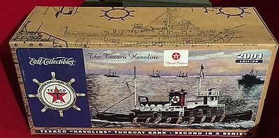 2001 Texaco Havoline Millennium Tugboat Bank 2nd In Series Special Edition