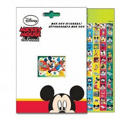 960 stickers Mickey Disney autocollant enfant scrapbooking carnet