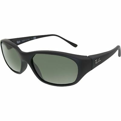 Ray-Ban RB2016 W2578 Daddy-O Matte Black / Green Classic 59mm Lens Sunglasses