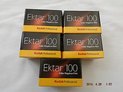 Kodak Ektar 100 35Mm 36Exp Colour Neg Film (5 Pack)