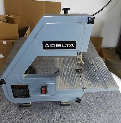 Delta 28 160 Table Top Band Saw Runs Needs Blade