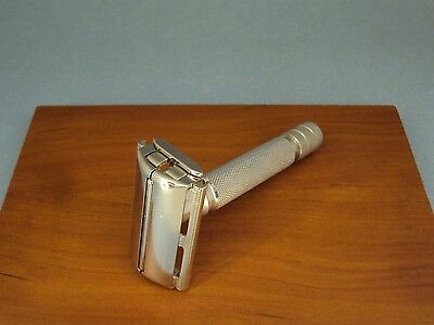 British GILLETTE ROCKET MD aluminium handle - safety razor - 1950/54