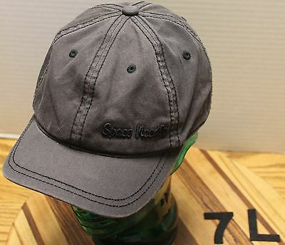 Very Nice Gray Youth Space Needle Seattle Washington Hat Adjustable Vgc
