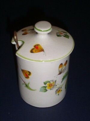 James Kent Old Foley Strawberry Jam/Condiment/Mustard Jar/Pot Made in England