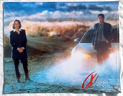 X-Files Fight The Future Original Sealed Usa Theatrical Lobby Card Set Rare New
