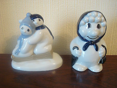 Wade Snow Woman & Snow Children Figurines