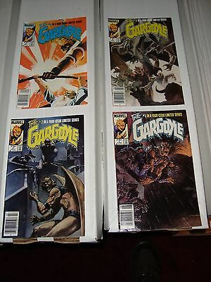 The Gargoyle Marvel Comic Book Complete Limited Series #1 - 4 From 1985 VF