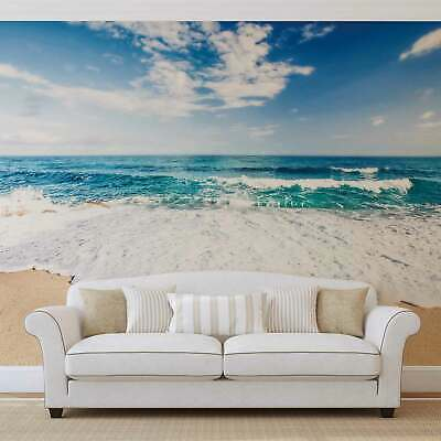 WALL MURAL PHOTO WALLPAPER XXL Beach Sea Sand Sky Clouds Nature (10218WS)
