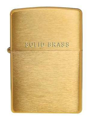 Magnifique Zippo Solid Brass Neuf