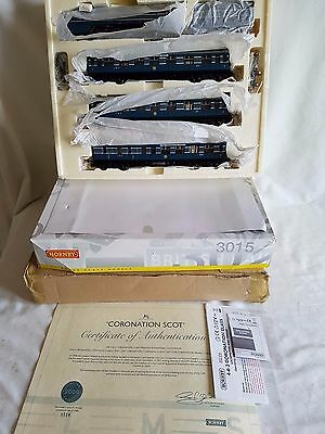 Hornby R2788 L.m.s Blue Coronation Train Pack  Limited Edition New Unused