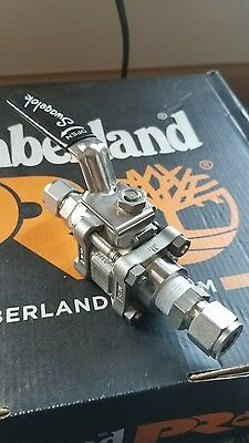 """Swagelok Ss-63Tf8 1/2""""  Ball Valve Fnpt Connection 2200 Psi 316Ss"""