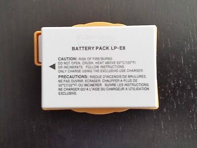 For CANON LP-E8 REBEL T2I T3I T4I 550D 600D 650D CAMERA LP E8 BATTERY LPE8 New