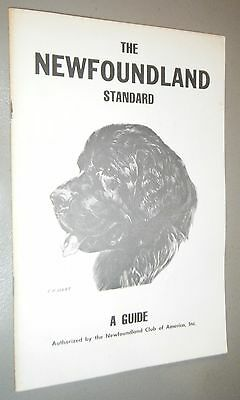 The Newfoundland Standard A Guide Illustrated by Ernest Hart Judging Breed Point