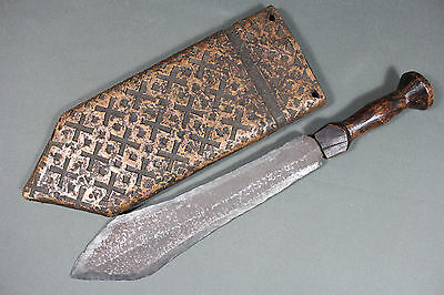 Antique African Songye/Luba short sword - Africa Congo 19th early 20th