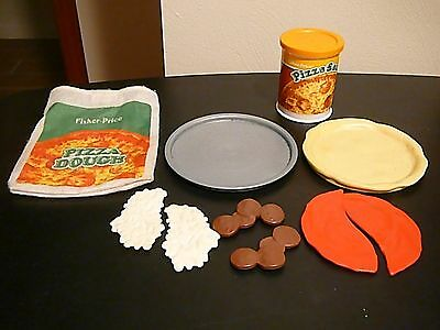 Fisher-Price Fun With Food Homemade Pizza #2136 complete set