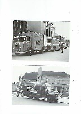 Commercial Vehicles  4 Postcards Bread And Butter Related