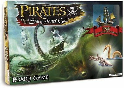 PIRATES QUEST For Davy Jones' Gold - Board Game Wizkids Complete - Hardly Played