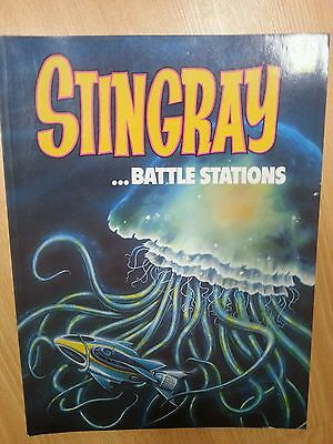 Stingray Comic Album no 1 Battle Stations Ravette 1992