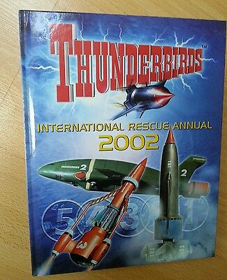Thunderbirds Annual 2002 New  excellent condition