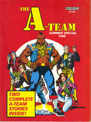 The A-Team Summer Special 1985 - Marvel (Uk) - Two Complete A-Team Stories - Vg+