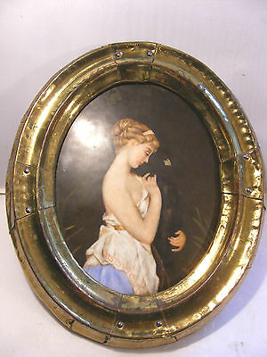 Antique German ? Porcelain Plaque