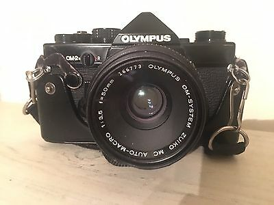 Vintage Olympus  Camera From 1983 with accessories