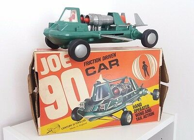 Vintage Joe 90 Friction driven car 21 Century Toys Ltd. made in England-BOXED