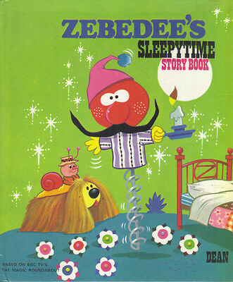 THE MAGIC ROUNDABOUT - ZEBEDEE'S SLEEPYTIME STORY BOOK - 1st Ed 1977 HB - LOVELY