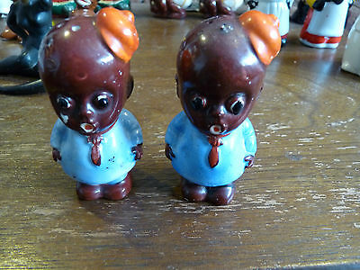 Black Americana Salt and Pepper Collection - Some Very Nice and Rare Pieces