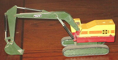 Advertising Toy Metal Bucyrus Erie Excavator Nzg Modelle Made In Germany No. 139