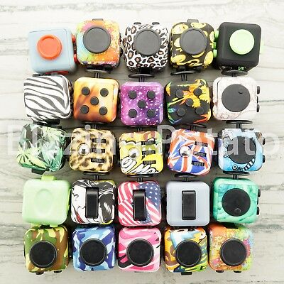 6 Side Fidget Cube Stress Anxiety Relief Figet Desk Toy Focus EDC ADHD NEW ☆USA☆