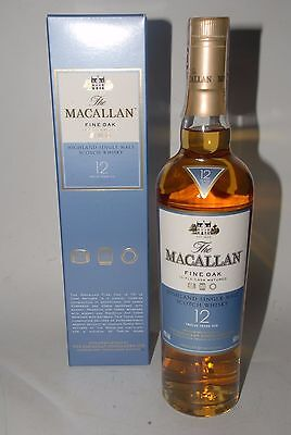 WHISKY MACALLAN 12 YEARS OLD FINE OAK TRIPLE CASK MATURE 50cl. IN BOX RARE