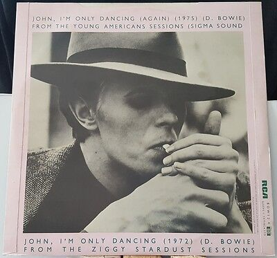 """David Bowie John, I'm Only Dancing (Again 1975) UK RCA 1979 12"""" PC BOW124 G/VG+"""