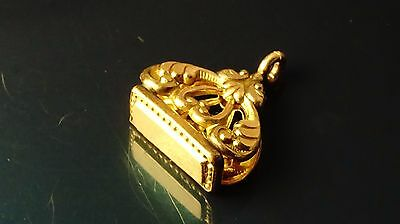 Beautiful Design Antique/Victorian Gold Filled pocket watch fob/pendant