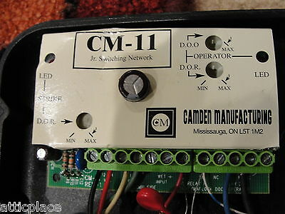 Cm-11 Jr Switching Network - Camden Door Controls