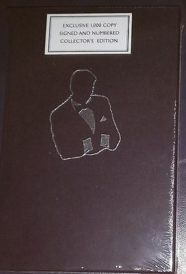 Signed & Numbered Roger Moore My Word is My Bond HB BK Collector's Ed slipcased