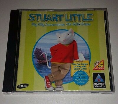 Stuart Little Big City Adventures PC CD-Rom Game For Ages 4 and Up