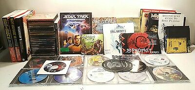 Lot of over 30 Rare PC Games Colletion + Guides + Cloth Map + More