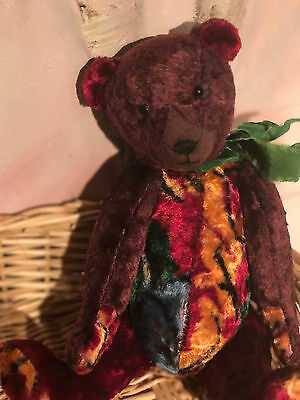 Vintage French Teddy Bear  small size For Antique Doll doll not included