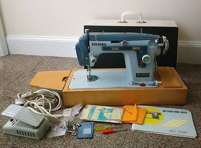 Janome Home Sewing Machine Model 532 Newhome Dual Operation Zig Zag Heavy Duty
